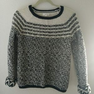 Lou & Grey Women's Striped Sweater Size Small